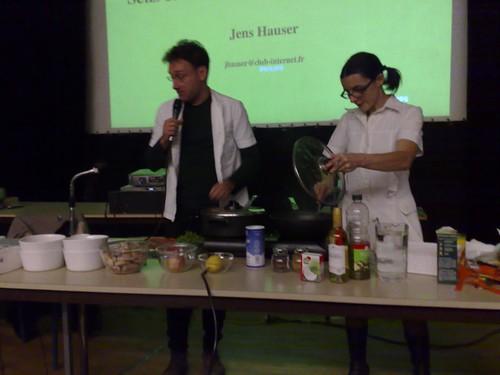 la grenouille suivant la recette végétarienne de Peter Singer