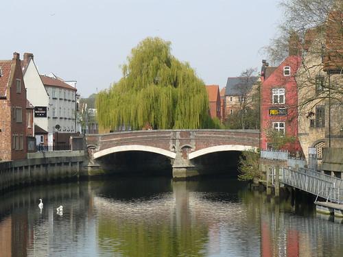 Une vue classique de Norwich