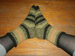 Bayou Sunset Socks - Complete