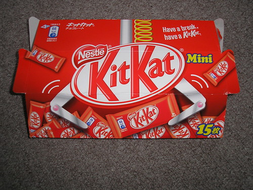 Kit Kats from the UFO catcher!