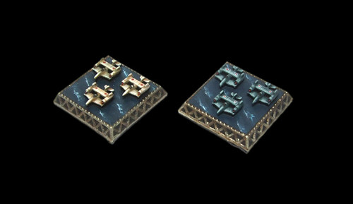 Dystopian Wars Flyer Tokens