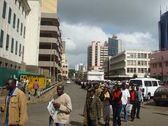 La cua a Nairobi