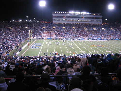 BYU vs. UCLA, Dec. 2007