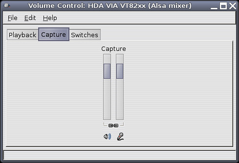 Volume control setting for Skype in Linux