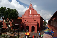 Christ Church and Town Square, Melaka