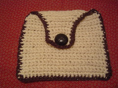 Hemp Crocheted Pouch