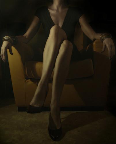 the yellow armchair  / hanna.bi