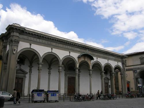Firenze, piazza della SS. Annunziata