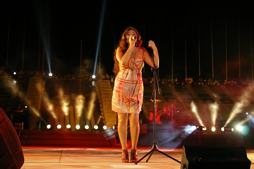 Stacie Orrico live in Phnom Penh Cambodia the
