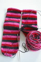 Strange Little Mama socks