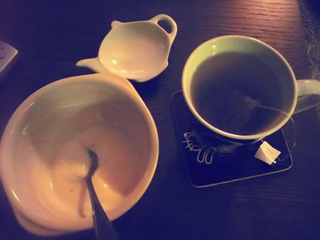 #137 - Bad photo of tea