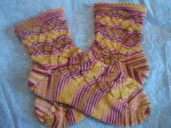 Chickabiddy ala Monkey socks