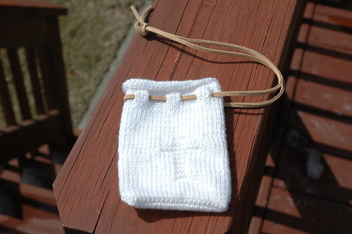 Boys' Version of Communion Bag