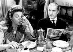 Martha Raye, Chas. Chaplin , ''Monsieur Verdou...
