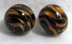 Tiger Stripe Beads