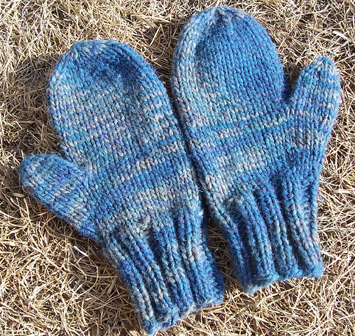 Mittens From Goat kins