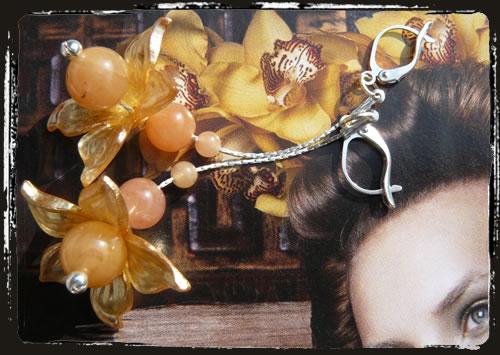 Orecchini fiore - Flowers earrings MEHDPLA