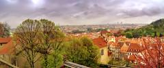 Panorama di Praga da Hradcany.