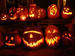 Pumpkin Carving Party 2006 (c) Sienna Wildfield