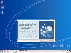 Arch + KDE