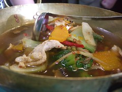 Gang Pa Thai Jungle Curry close-up - Ying Thai...