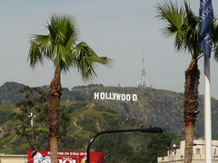 The Hollywood sign, LA