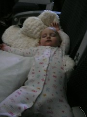 Sleeping (!) on the plane