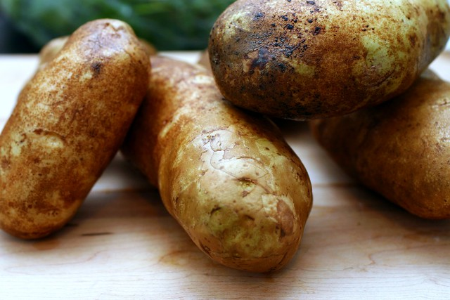 potatoes on the ready