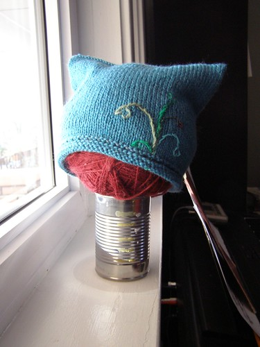 hanging hearts hat