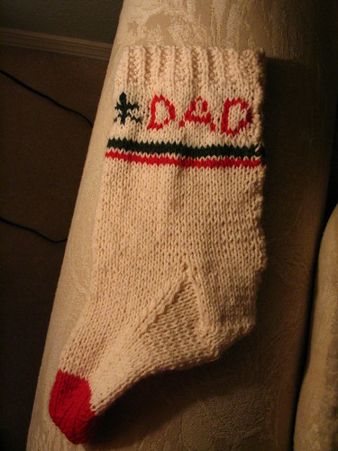 Dad's Stocking