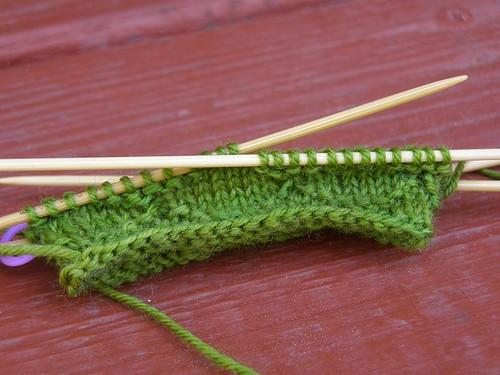 Beginning of Rusalka Gloves