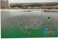 Ironman Florida Swim Start