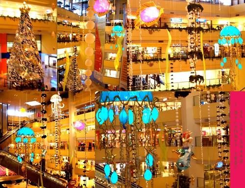 Christmas Decoration at the Shangrila-Plaza Mall