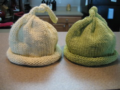 Umbilical cord hats