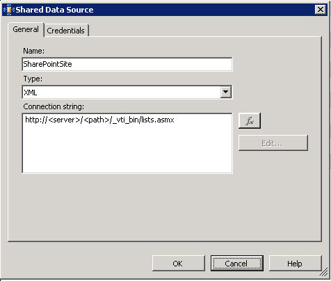 Connecting SQL Reporting Services to a SharePoint List |