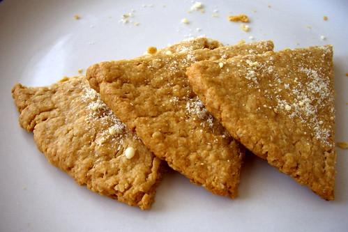 Cheesy Oatcakes