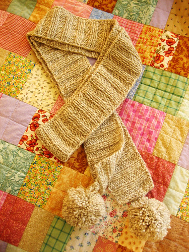 anthropologie-inspired scarf