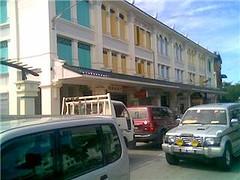 Sg Merah new shops