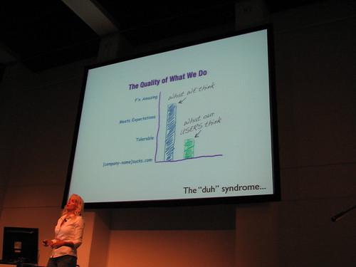 Web 2.0 Expo, Kathy Sierra 16