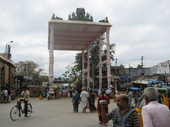 Mandapam at Base of Hill