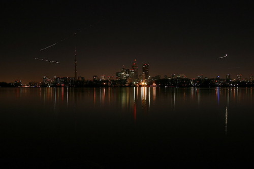 Toronto during Earth Hour