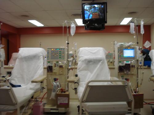 Sala de diálisis