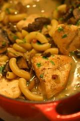 Chicken, Madeira, and Macaroni Soup 1