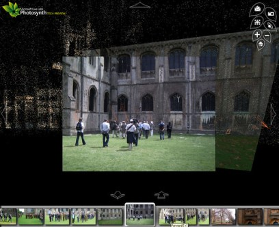 Photosynth Ely Cathedral Camera View