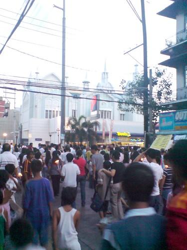 Neighborhood procession