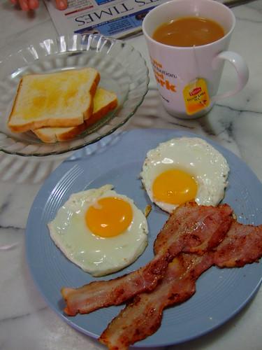 Breakfast by Dad!