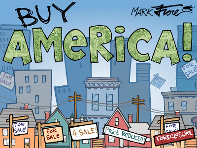 Buy America by Mark Fiore