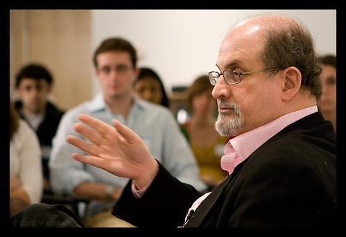 Sir Ahmed Salman Rushdie by Nrbelex.