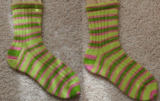 Appletini socks.