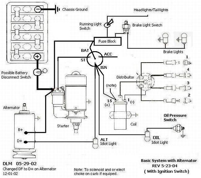 vw kit car wiring diagram  150cc scooter wiring diagram